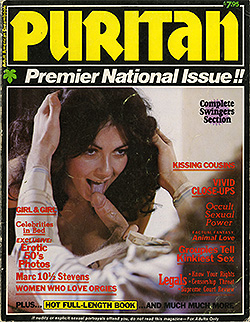 Good Condition With Some Wear And Several Loose Pages Typical For These Older Perfect Bound Magazines All Color Puritan Is One Of The Best Sex Magazines