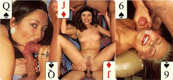 vivid nude adult playing card