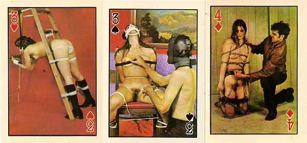 Similar. Vinatge nude playing cards good result