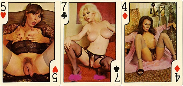 1950s Playing Card Porn