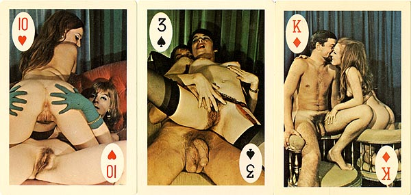 Consider, Vinatge nude playing cards pity, that