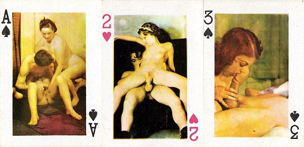 Xxx women playing cards