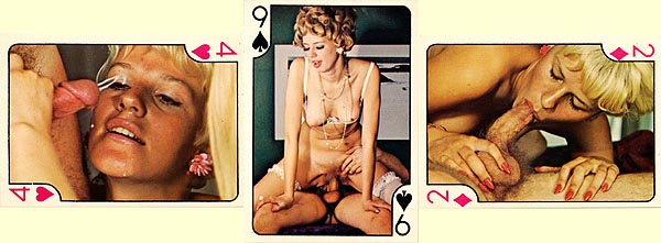 Vinatge nude playing cards agree, this