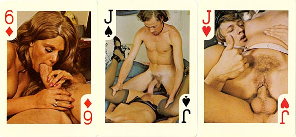 Agree, sex position playing card deck really. And