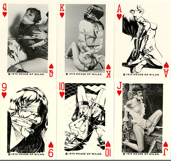 da023ccc2 Vintage Erotic Playing Cards for sale from Vintage Nude Photos!