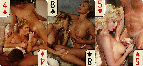 Playing cards with fantasy naked pictures